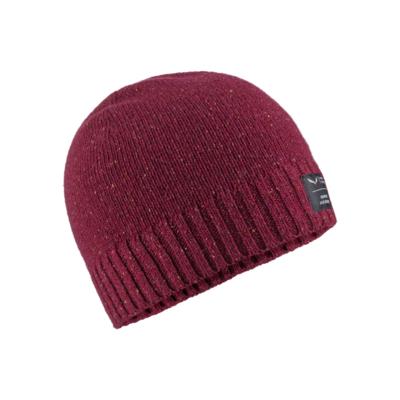 Czapka zimowa Salewa Melanżowa czapka czerwony rodo 28175-6360