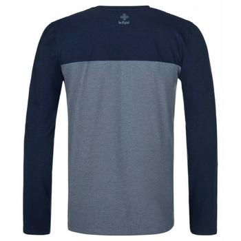 Koszulka męska długi rękaw Kilpi DRUMON-M ciemnoszary, Kilpi