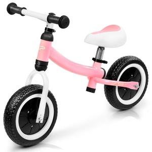 Dziecięce  rowerek bez pedałów Spokey CHILDISH rużowy, Spokey