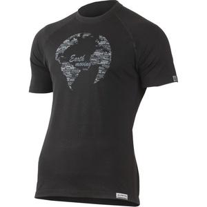 Koszulka Lasting ZIEMIA 9090 czarne merynos, Lasting