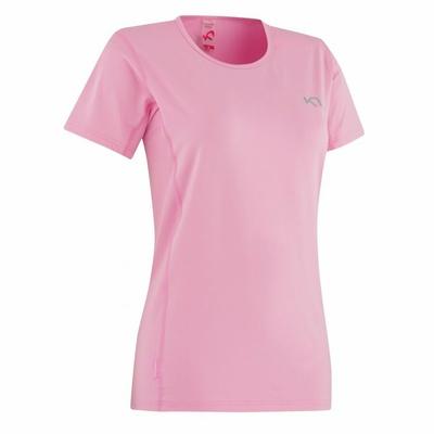 Damskie koszulka Kari Traa Nora Tee 622638, różowa II, Kari Traa