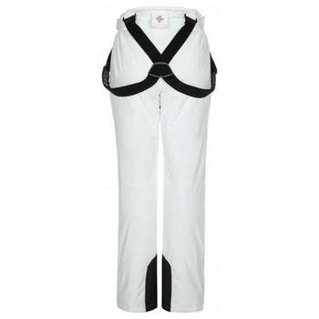 Narciarstwo damskie spodnie Kilpi ELARE-W biały, Kilpi