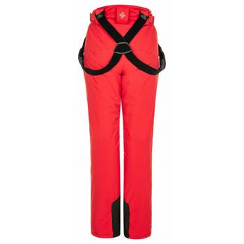 Narciarstwo damskie spodnie Kilpi ELARE-W czerwony, Kilpi