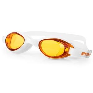 na basen okulary Spokey TINI pomarańczowy szkła