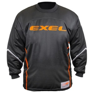 Bramkarzski bluza EXEL S100 GOALIE JERSEY black/orange, Exel