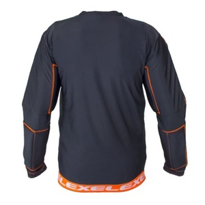 Golmanski bluza EXEL S100 PROTECTION SHIRT black/orange, Exel