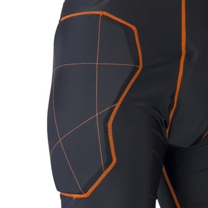 Golmanské spodnie EXEL S100 PROTECTION SHORT black/orange, Exel