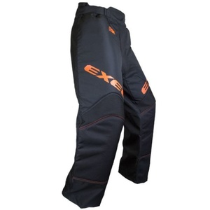 Golmanské spodnie EXEL S60 GOALIE PANT junior black/orange, Exel