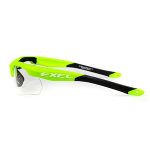 ochronne okulary EXEL X100 EYE GUARD junior green, Exel