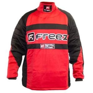 Bramkarzski bluza FREEZ Z-80 GOALIE SHIRT BLACK / RED junior, Freez