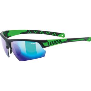 Sportowe okulary Uvex SPORTSTYLE 224, Black Mat Green (2716), Uvex