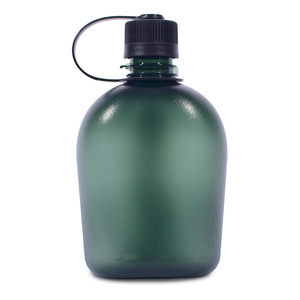 Butla Pinguin Tritan Flask 0,75L green, Pinguin