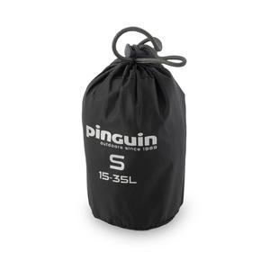 Płaszcz przeciwdeszczowy do plecak Pinguin Raincover S 15-35l czarny, Pinguin