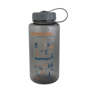 Butla Pinguin Tritan Fat Bottle Grey 2020 1000 ml, Pinguin