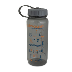 Butla Pinguin Tritan Slim Bottle Grey 2020 650 ml, Pinguin