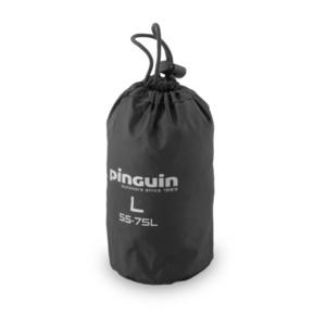 Płaszcz przeciwdeszczowy do plecak Pinguin Raincover L 55-75l czarny, Pinguin