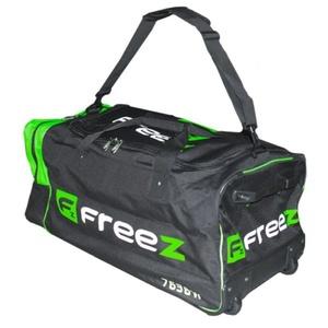 Sportowe torba FREEZ WHEELBAG PREMIER-76 Czarno-zielony, Freez