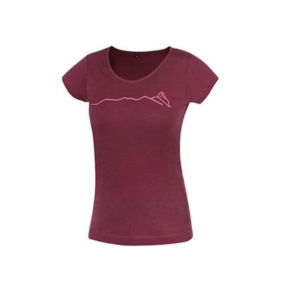 Koszulka Funkcjonalne Furry lady palisander (kręgosłup)