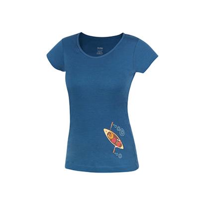 Koszulka Funkcjonalne Furry lady petrol (kajak), Direct Alpine