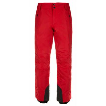 Męskie spodnie narciarskie Kilpi GABONE-M czerwony, Kilpi