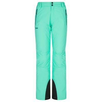 Narciarstwo damskie spodnie Kilpi GABONE-W turkus, Kilpi
