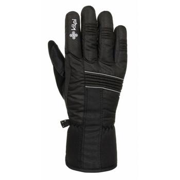 Dla obu płci rękawice narciarskie Kilpi DOTACJA-U czarny