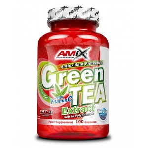 Amix Green TEA Extract with Witamin C 100 kapsułek, Amix