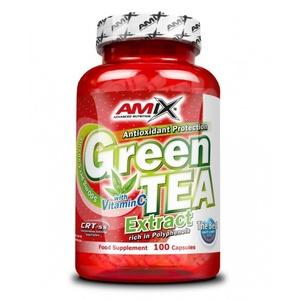 Amix Green TEA Extract with Witamin C 100 kapsułek, Amix