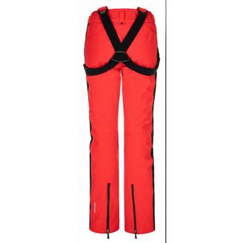 Narciarstwo damskie spodnie Kilpi HANZO-W czerwony, Kilpi