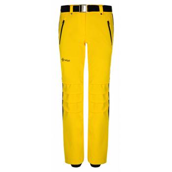 Narciarstwo damskie spodnie Kilpi HANZO-W żółty, Kilpi