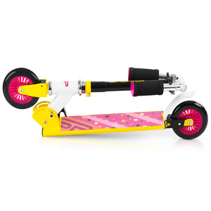 Hulajnoga Spokey DUKE kółka 125 mm, żółto-różowy, Spokey