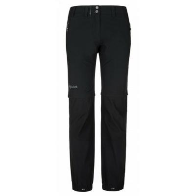 Damskie spodnie outdoorowe Kilpi WANAKA-W czarny, Kilpi
