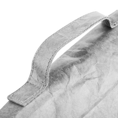 Torba termiczna na przekąski z pętlą Spokey EKO FRIENDLY CARTA szara, Spokey