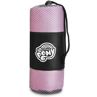 Szybkoschnący ręcznik sportowy Spokey HASBRO PINKIE, czarno-biały, Spokey