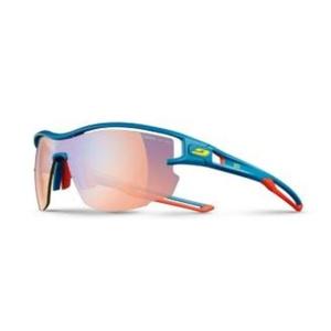 Przeciwsłoneczna okulary Julbo AERO PRO Zebra Light Fire 974 grand rajd niebieski / czerwony / żółty, Julbo