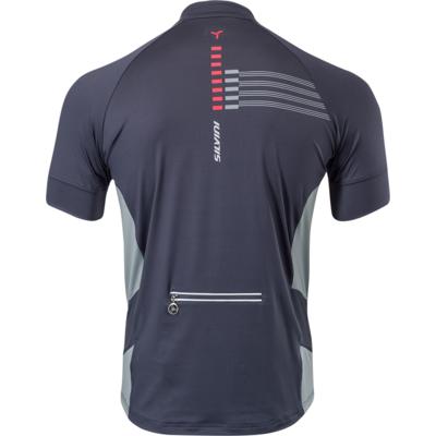 Męska koszulka rowerowa Silvini Krzyż MD1204 charcoal, Silvini