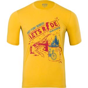 Męskie MTB koszulka Silvini Berici MD1614 żółty merlot, Silvini