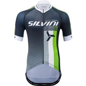 Męski rowerowy bluza Silvini TEAM MD836 black-green, Silvini