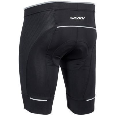 Męskie rowerowe spodnie Fortore MP1003 black, Silvini