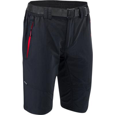 Męskie MTB rowerowe spodnie Silvini Rango MP1616 black-red, Silvini