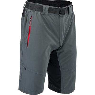 Męskie MTB rowerowe spodnie Silvini Rango MP1616 charcoal-red, Silvini