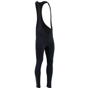 Męskie zimowy rowerowe spodnie Silvini Maletto MP1738 black, Silvini