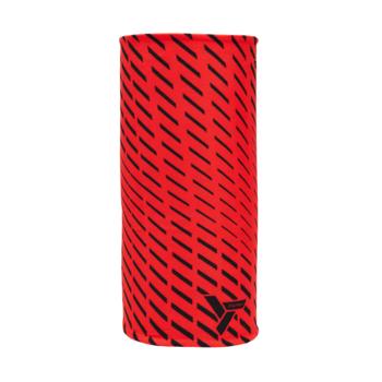 Izolowany szalik sportowy Silvini Marga UA1525 rubinowy / czarny, Silvini