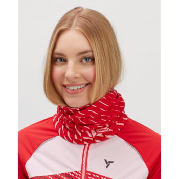 Izolowany szalik sportowy Silvini Marga UA1525 rubin, Silvini