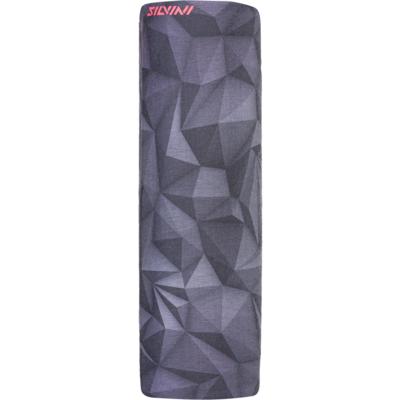 Pojedyncza warstwa wielofunkcyjny szalik Silvini Motivo UA1730 czarny, Silvini