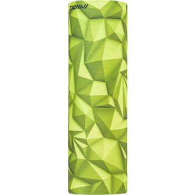 Pojedyncza warstwa wielofunkcyjny szalik Silvini Motivo UA1730 limonkowy, Silvini