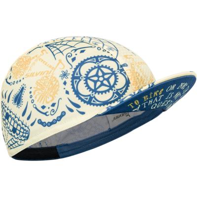 czapka rowerowa Silvini Pokoje UA1816 yellow/blue
