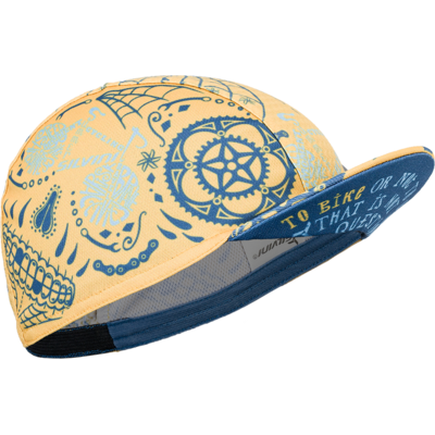 czapka rowerowa Silvini Pokoje UA1816 yellow