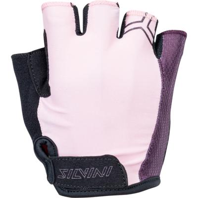 Rękawiczki damskie Silvini Enna WA1445 liliowy, Silvini