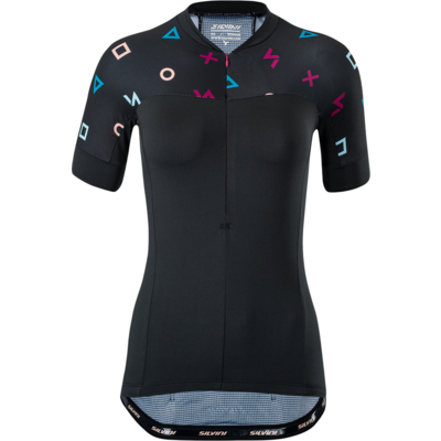 Damski koszulka rowerowa Silvini Catirina WD1621 black
